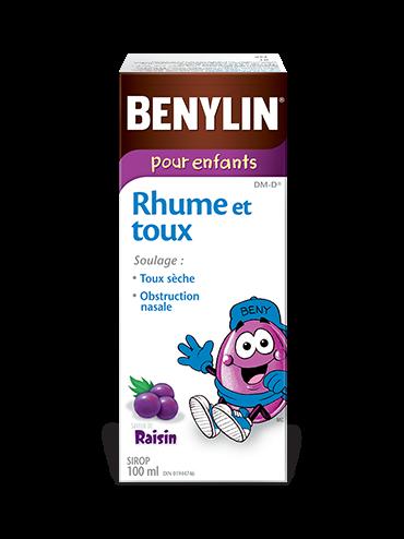 Sirop BENYLIN® pour enfants Rhume et toux