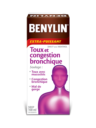 Sirop BENYLIN® TOUX ET CONGESTION BRONCHIQUE