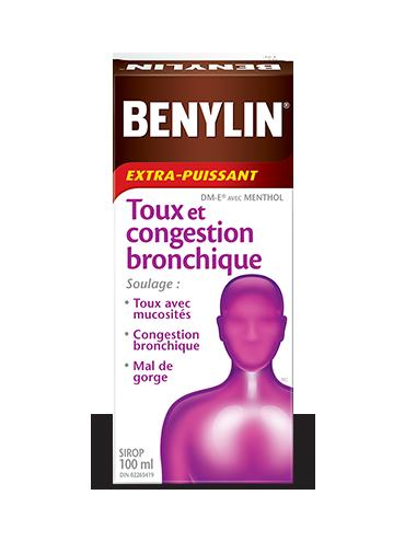 Sirop BENYLIN® TOUX ET CONGESTION BRONCHIQUE