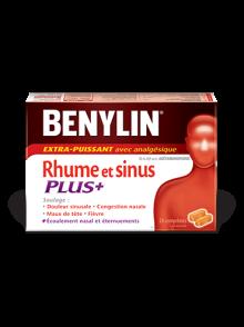 Comprimés BENYLIN® Extra-puissant Rhume et sinus PLUS+