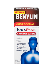 Sirop BENYLIN® Toux Plus Soulagement Du Rhume